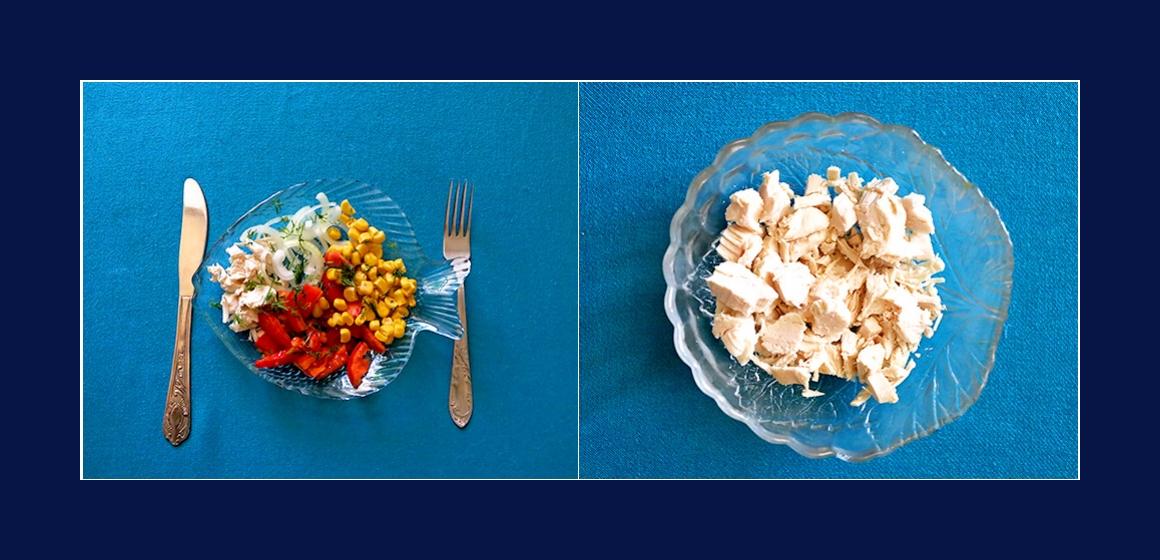 leichter Saalt  Kalorien Zutaten
