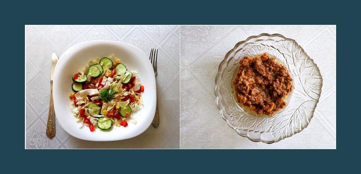 schneller Salat Gemüsesalat