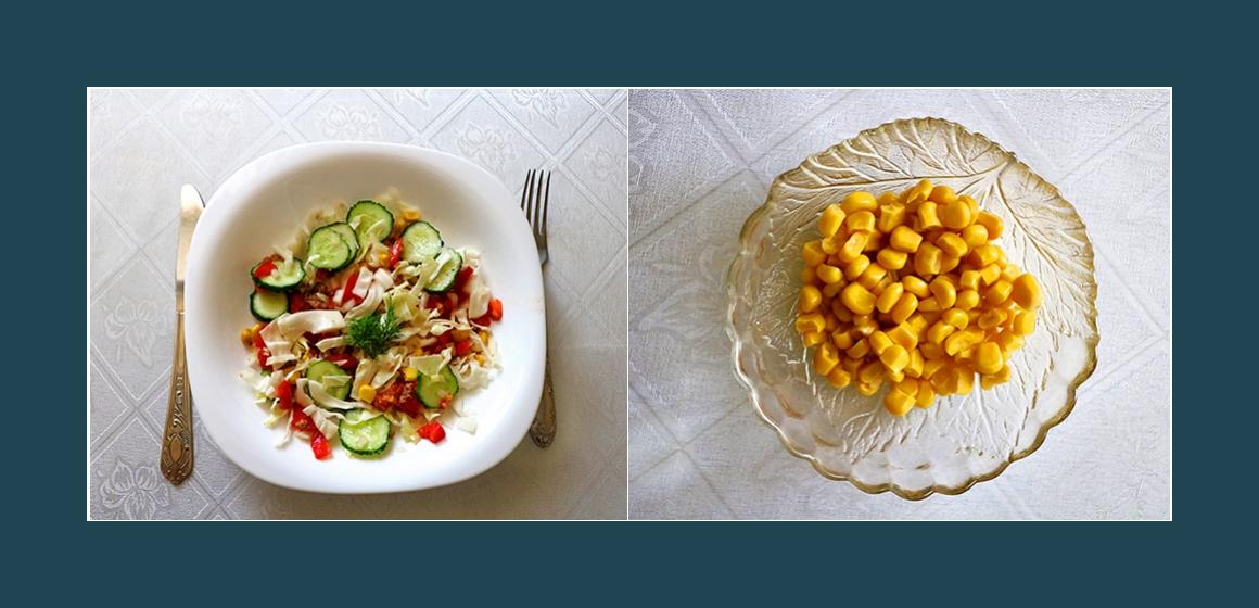 leckerer Salat einfacher Salat