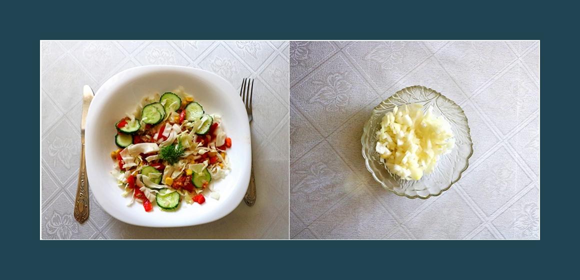 einfacher Salat schneller Salat