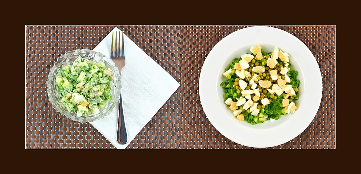 gemischter Salat leckerer Salat