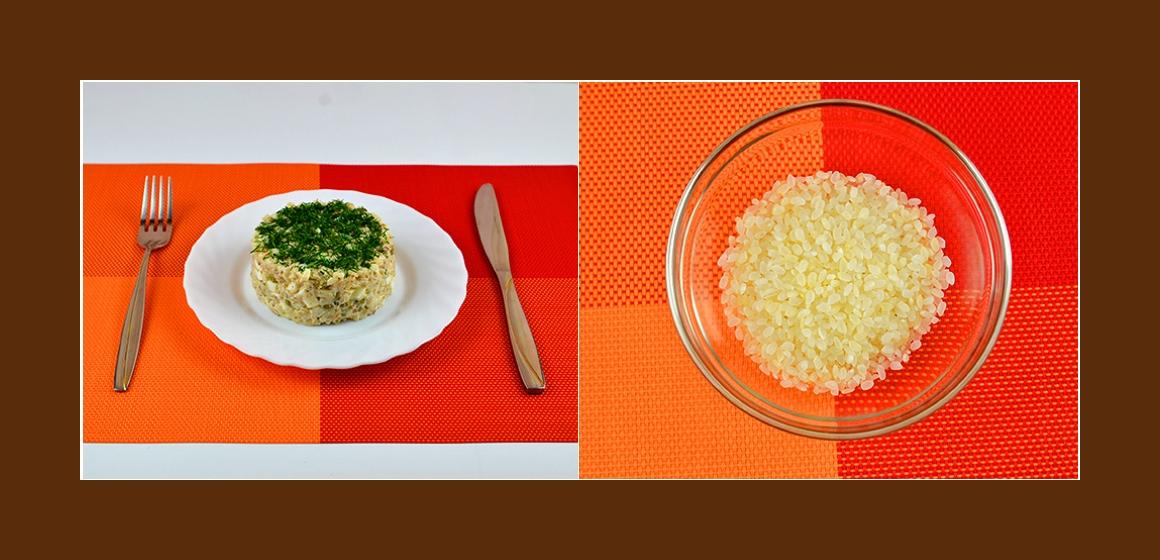 reis-Erbsen-Eier-Salat