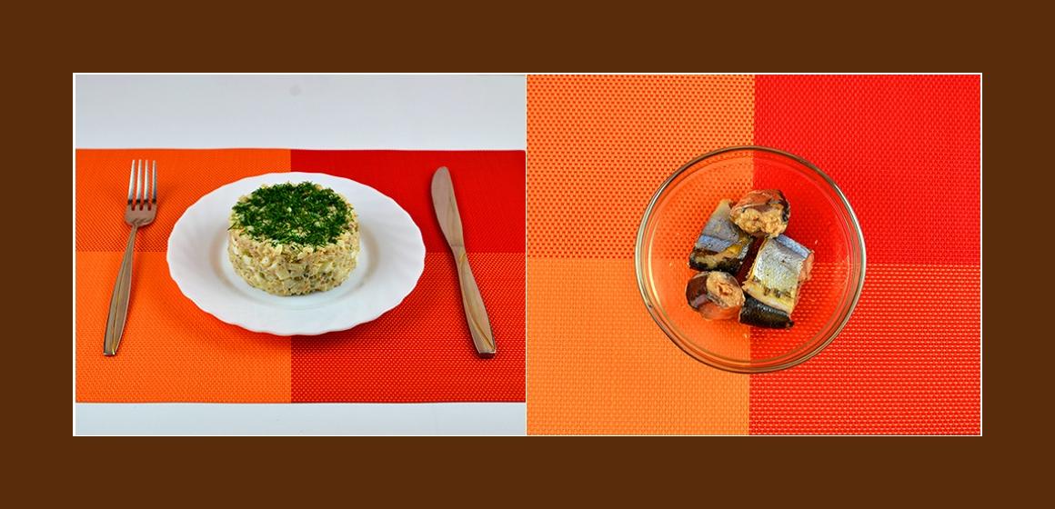 Sardinen-Erbsen-Salat Rezept