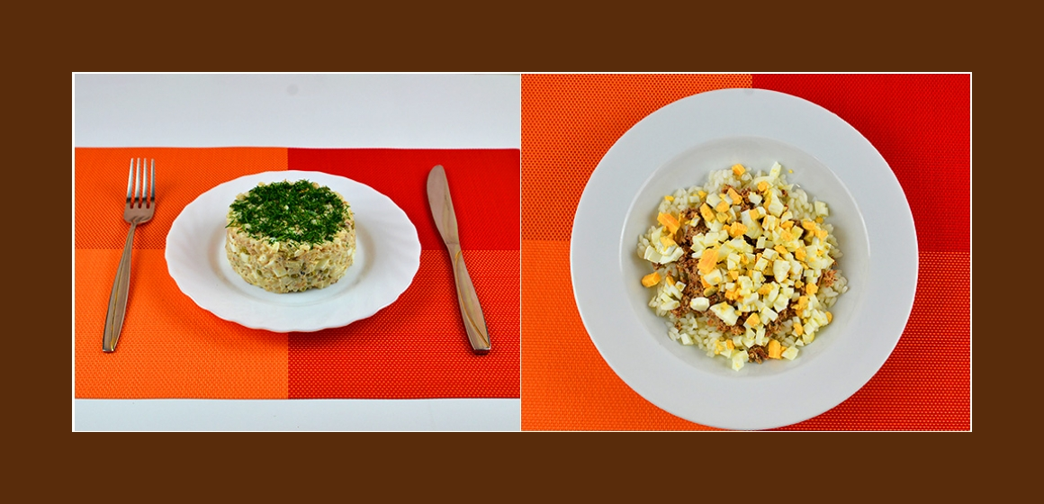 bunter Salat mit Mayonnaise Zutaten