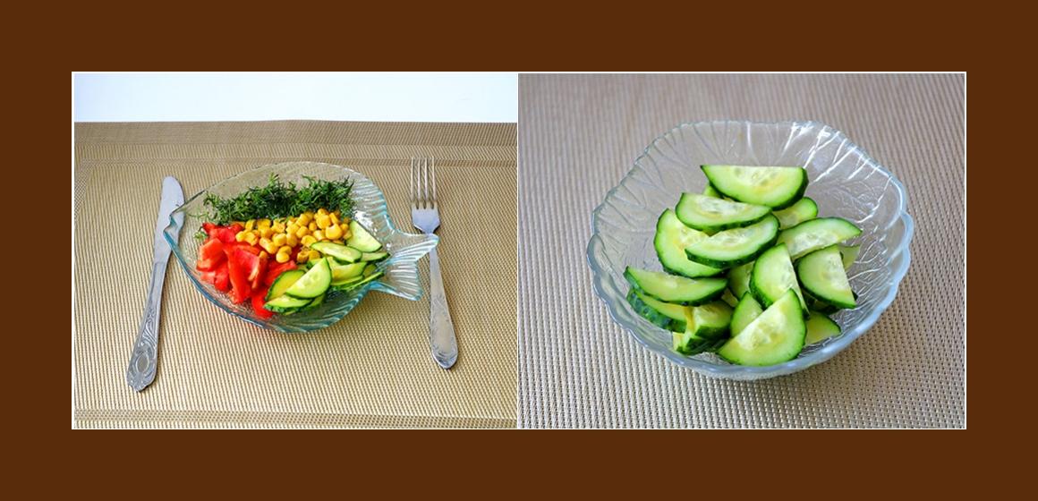 bunter Salat Gemüsesalat