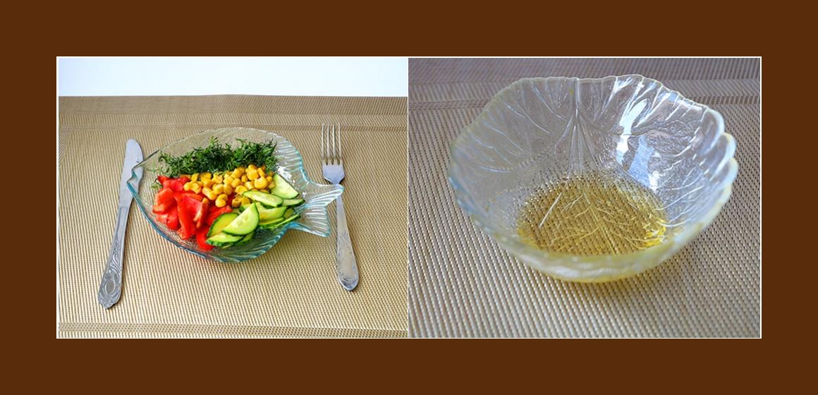 frischer Salat leichter Salat