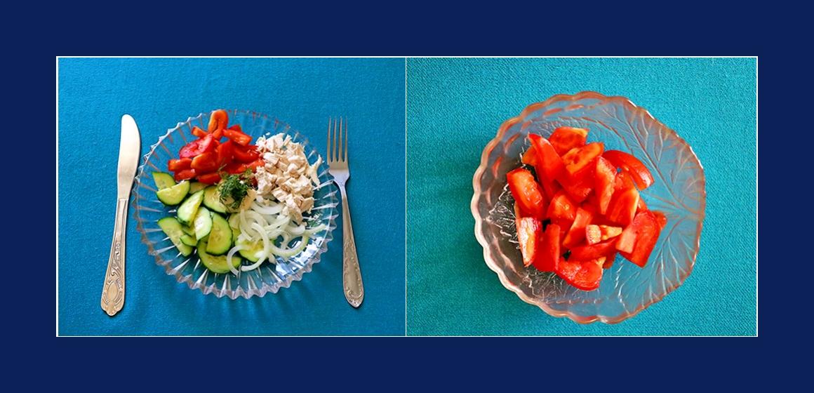 leichter Salat Sommersalat