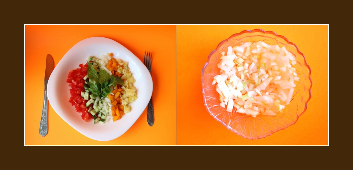 leckerer Salat gemischter Salat