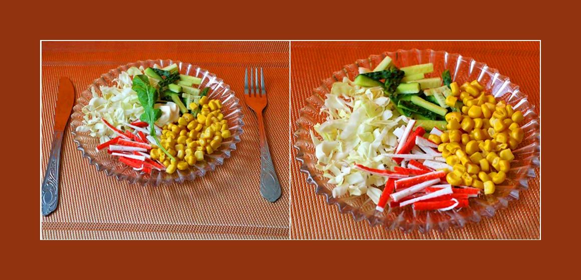 Kohl-Gurken-Salat