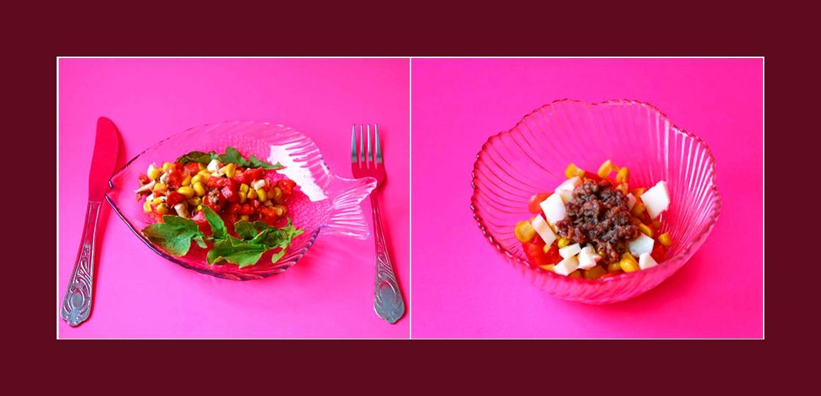einfacher Salat