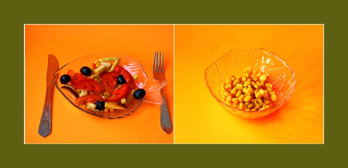 nahrhafter Salat Kalorien