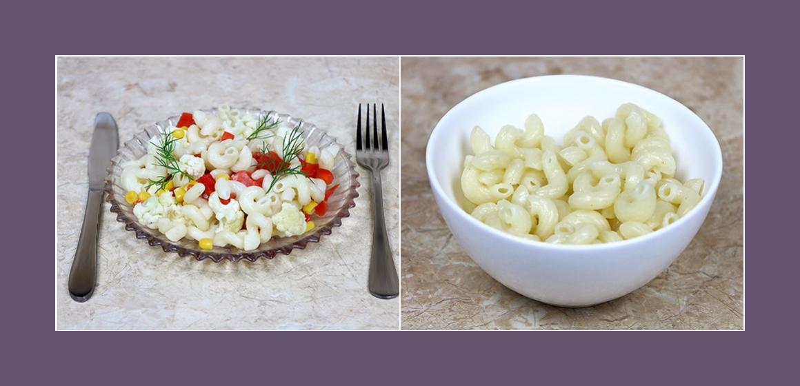 bunter Salat Zutaten