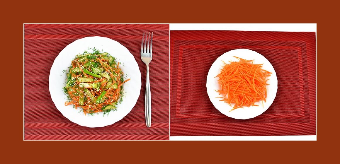 saftiger Salat