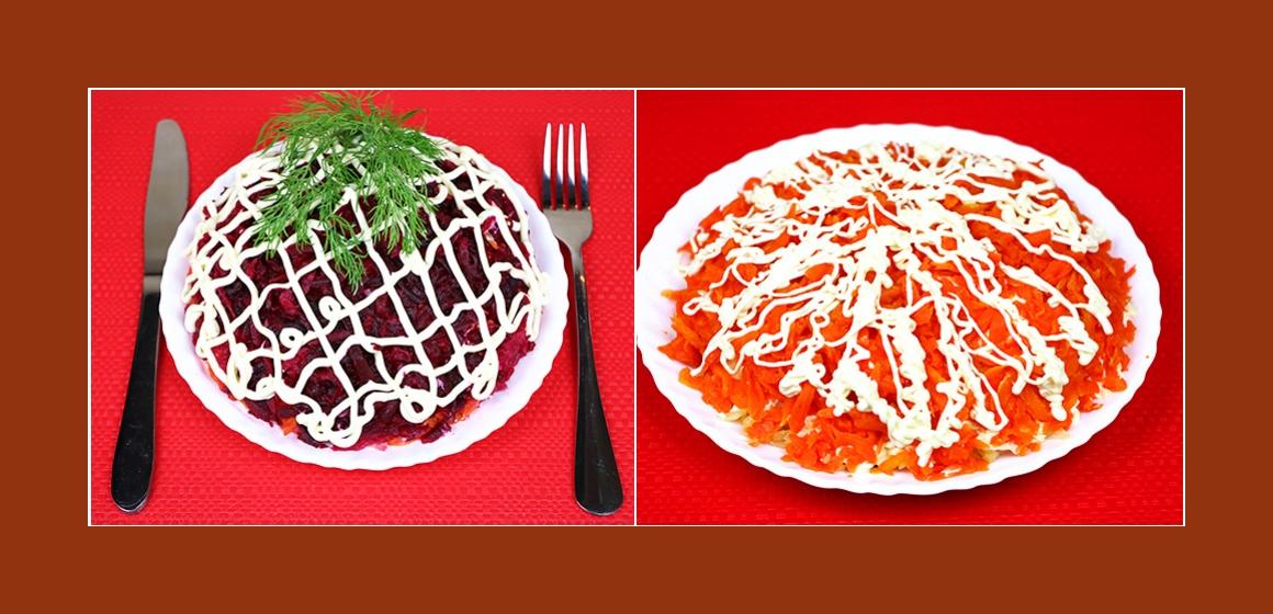 Schichtsalat mit Hering