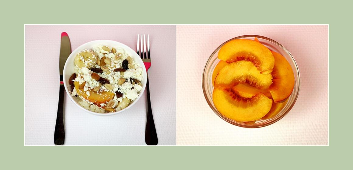 köstlicher Obstsalat mit Quark