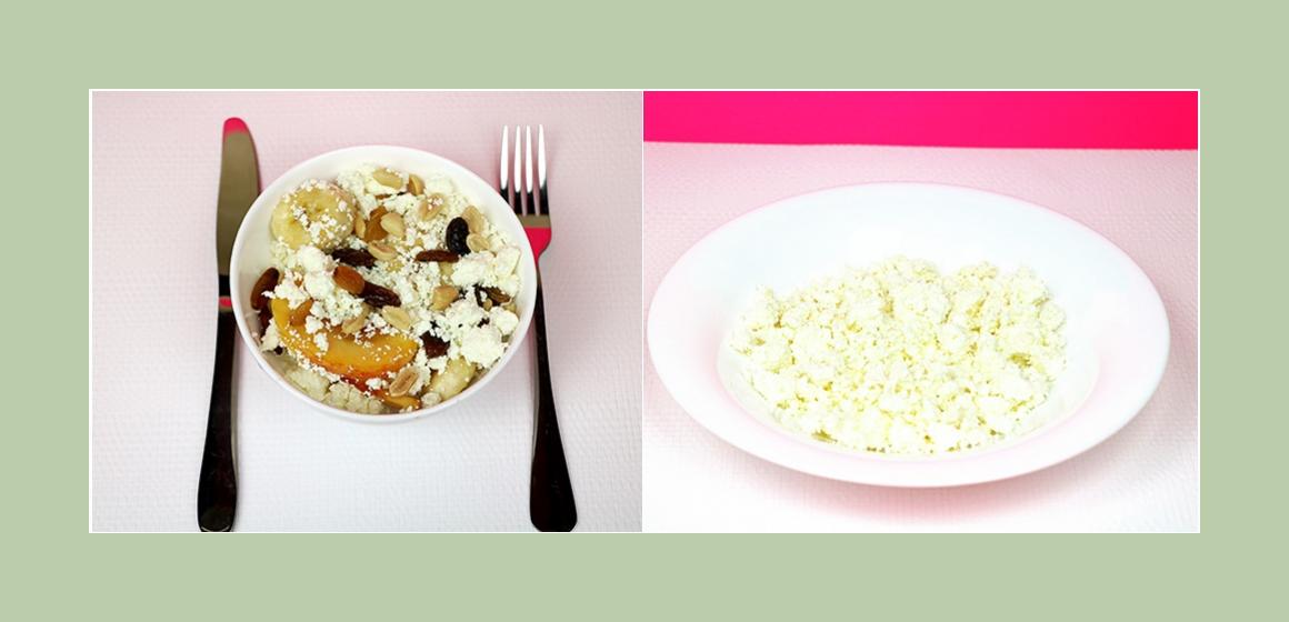 Bananen-Pfirsich Salat