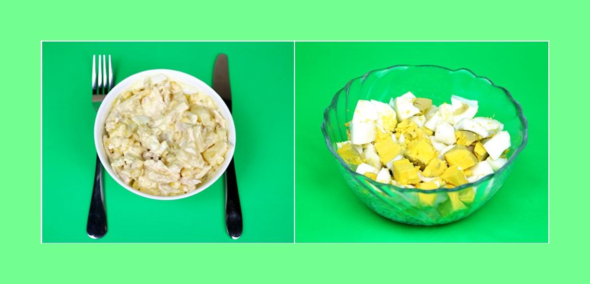 nahrhafter Salat