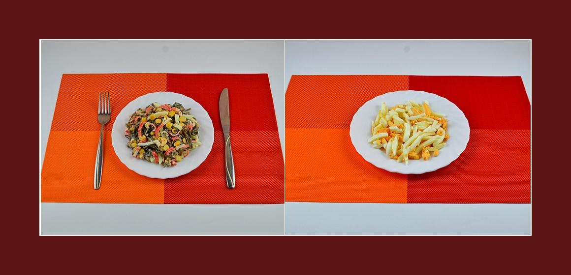 pikanter Salat einfacher Salat