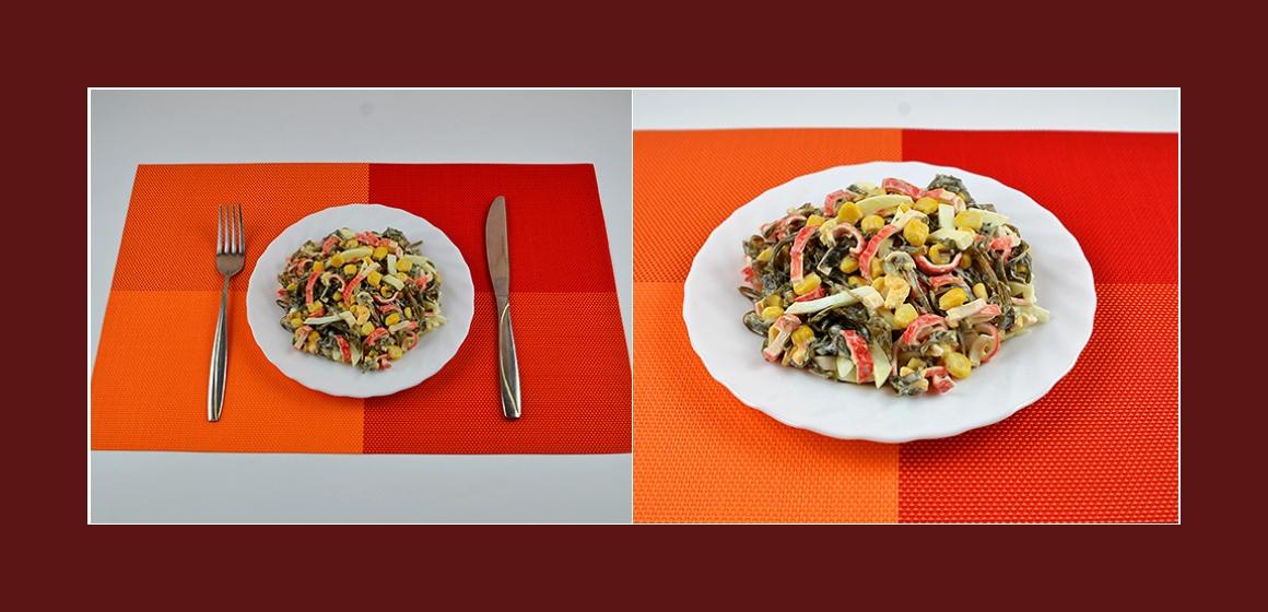 leckerer Salat nahrhafter Salat