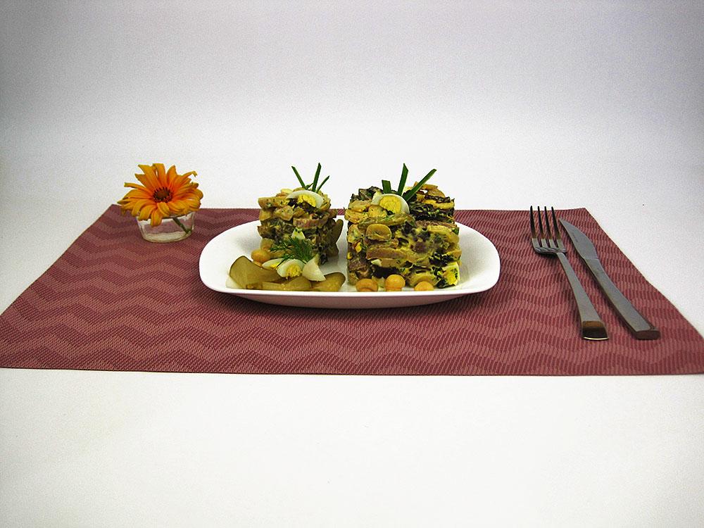 einzigartiger Salat