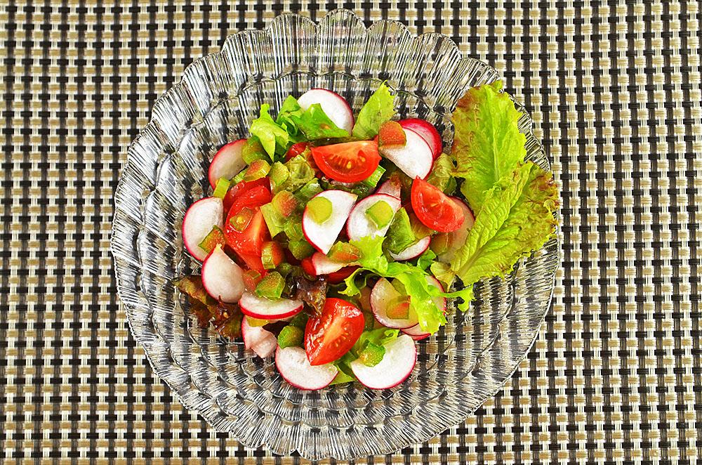 Salatzutaten Kalorien