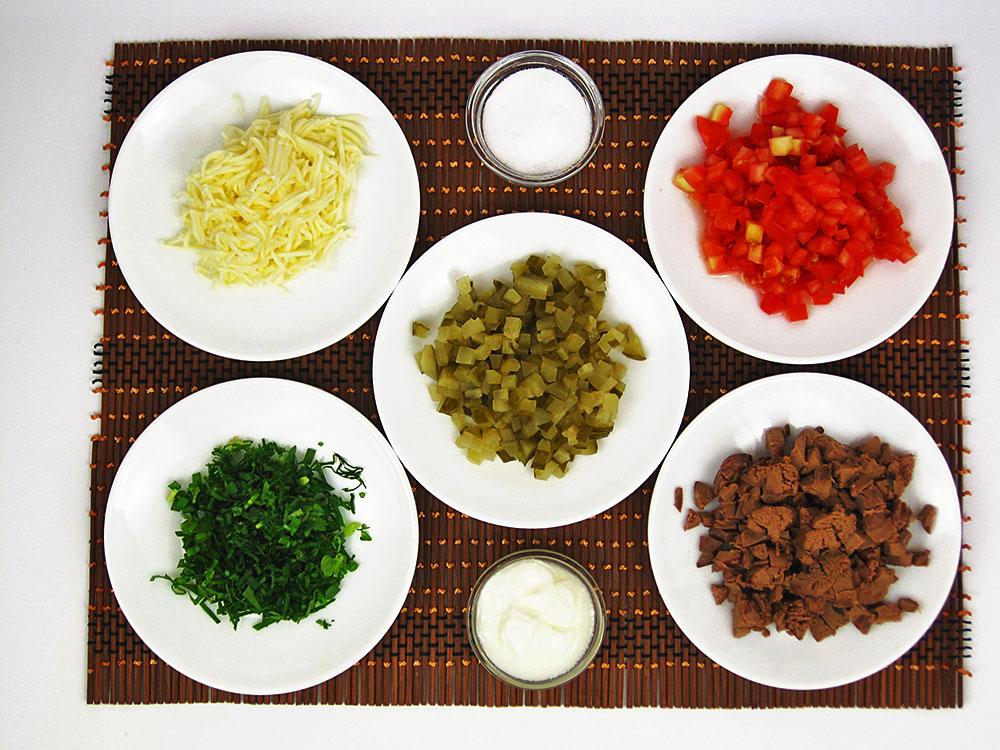 змішаний салат
