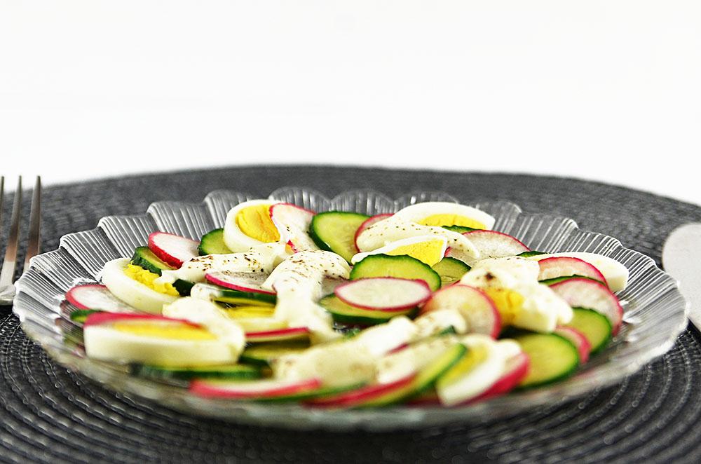 Salat Sommerportion