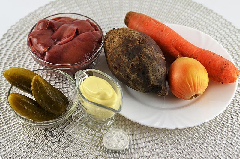Salat Zutaten Kalorien