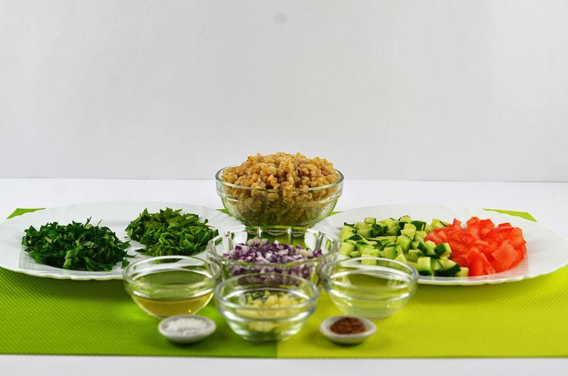 aromatischer Salat