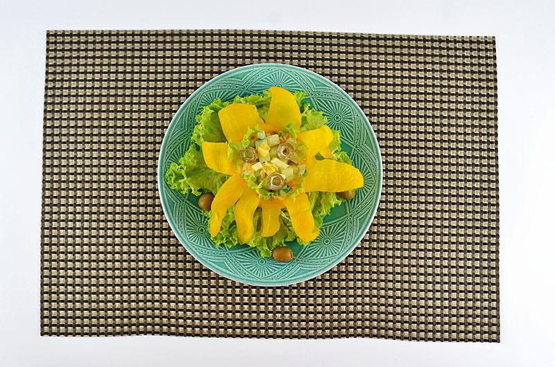 ungewönlicher Salat